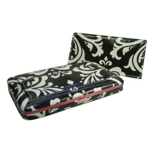 Damask Fatty Flat Wallet