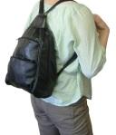Backpack style handbag