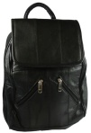 Lambskin Leather Backpack Purse