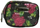 Betsey Johnson Rose Cosmetic Square