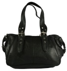 Lambskin Leather Satchel Handbag