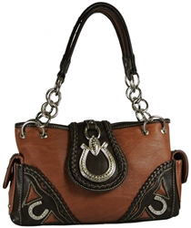 Montana West Horseshoe E/W Satchel