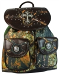 Concealed Carry Backpack Purse Camo
